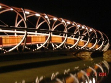Radwegbrücke in Unzmarkt